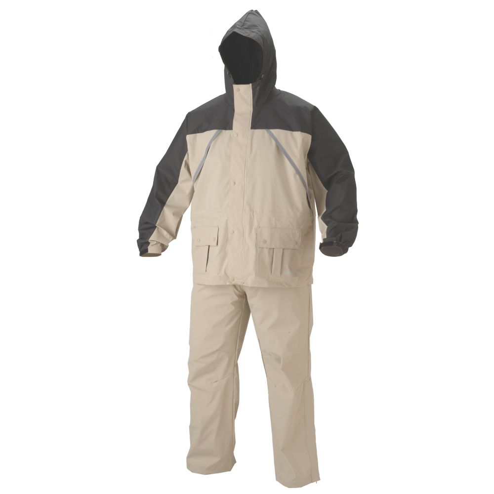 Lightweight .20mm PVC/Nylon Rain Suit