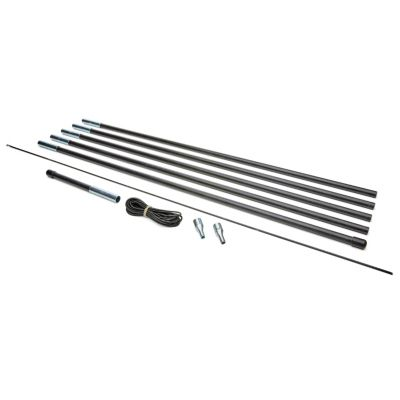 """Replacement Kit - Tent Fiberglass Pole 12.7mm Diameter, 5-30' Pole Sections (150"""" in total)"""