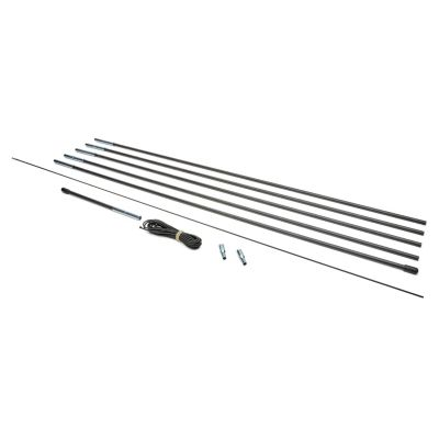 """Replacement Kit - Tent Fiberglass Pole 6.9/7.0mm Diameter,5-30' Pole Sections (150"""" in total)"""
