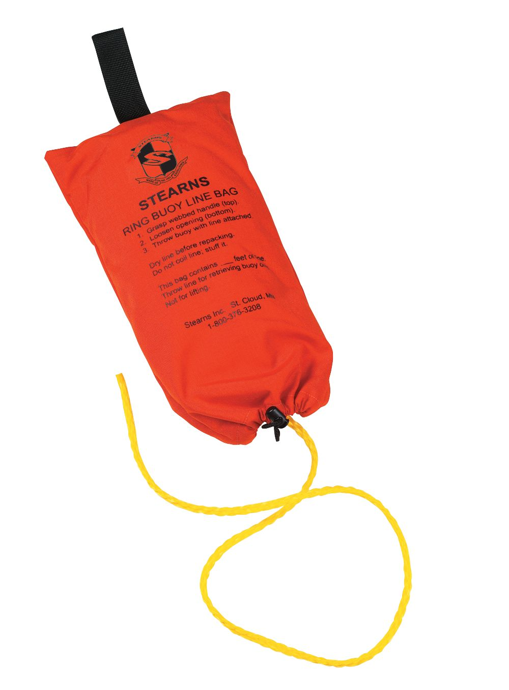 Ring Buoy Rope with Bag - 150 ft.