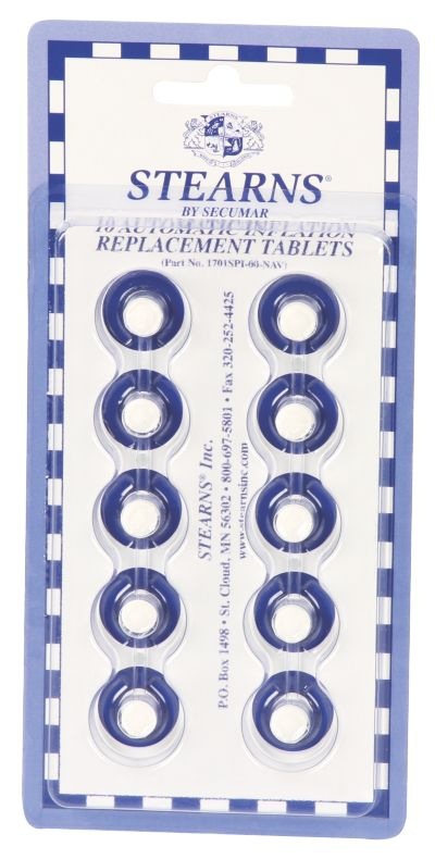 Chemical Tablets - 10/Pack