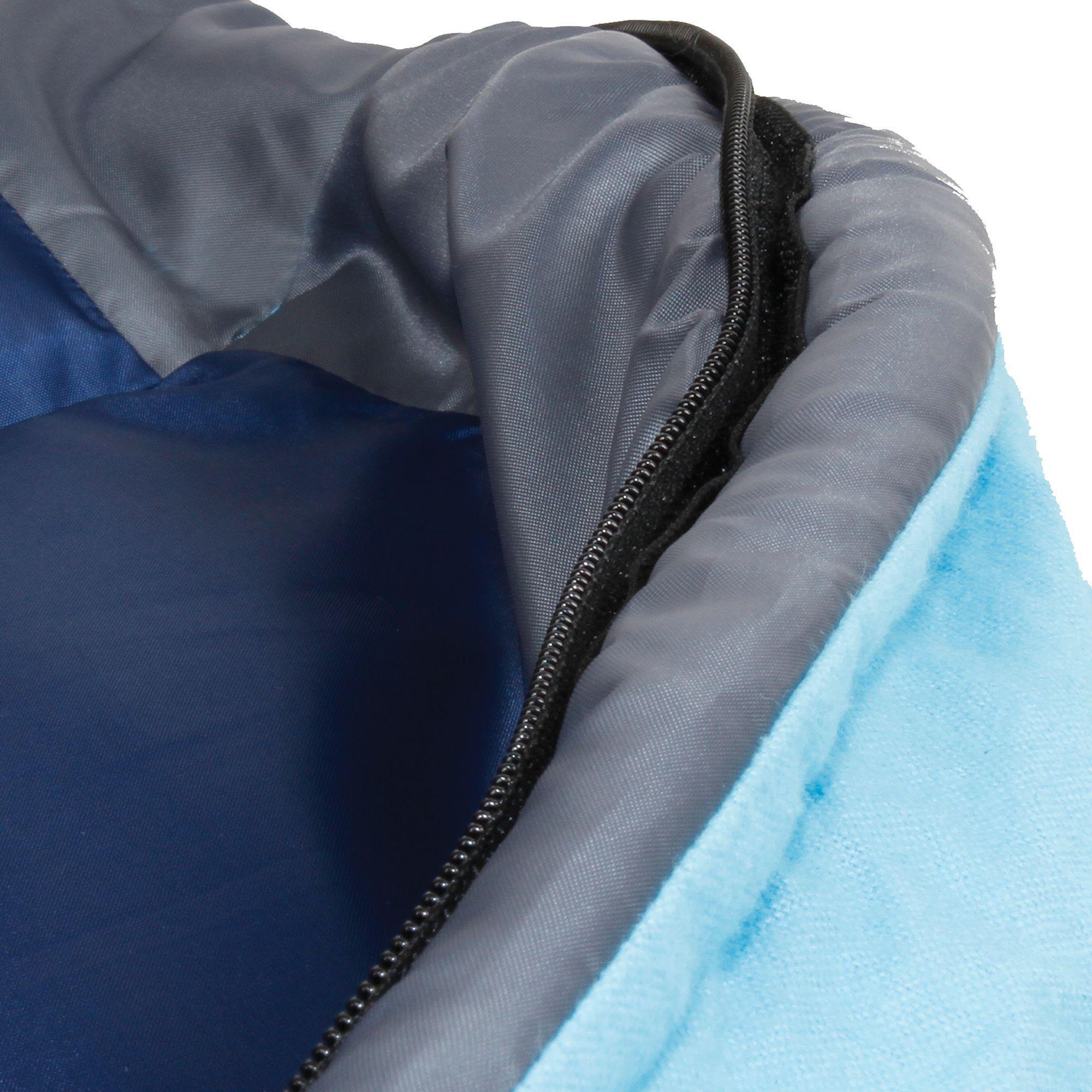 sleeping heat pump comfort wid comforter big tall open bag aqua coleman point dexter hei