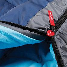 Coleman Sleeping Bag Features Closeup Of The Zipplow Zipper
