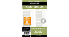 Telephone-Address Planner Pages Size 4 (Item # 011-230)