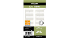 Telephone-Address A-Z Planner Tabs Size 3 (Item # 023-0200)