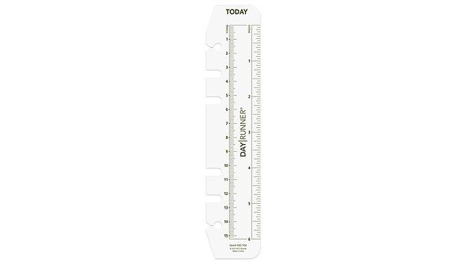 Day Runner Planner Page Marker-Ruler Size 3  (043-104)