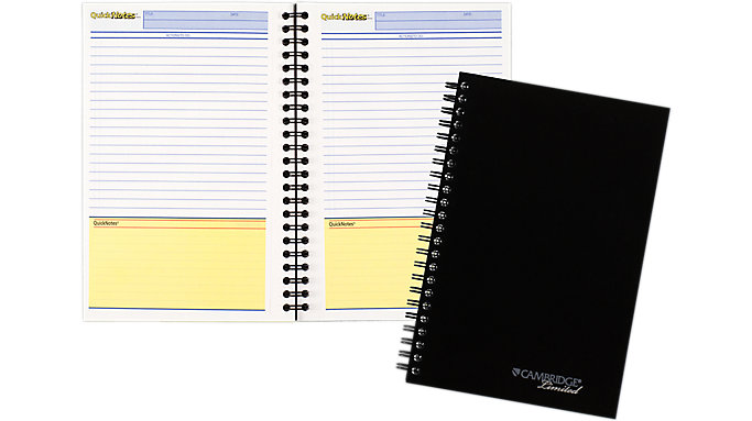Mead Cambridge Limited QuickNotes Business Notebook  (06096)