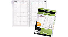 Nature Monthly Planner Refill Size 4 (Item # 061-685)