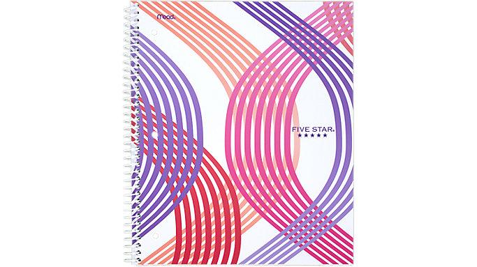 Five Star Style Wirebound Notebook 1 Subject  (06348)