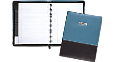 Cambridge Limited Blue Fashion Refillable Notebook (Item # 06602)