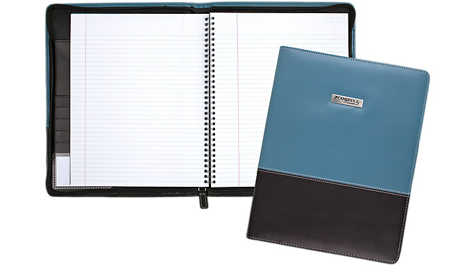 Cambridge Limited Blue Fashion Refillable Notebook  (06602)