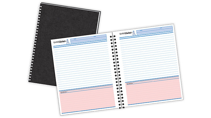 Mead Cambridge Limited QuickNotes Breast Cancer Awareness Business Notebook  (06969)