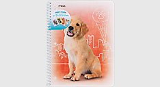 Purrs and Grrrs Notebook Stickers Included 1 Subject (Item # 07036)