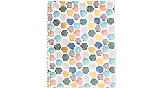 Shape It Up College Ruled Notebook 1 Subject (Item # 07152)