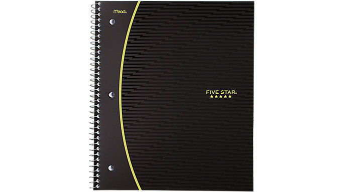Five Star Graphics College Ruled Notebook 1 Subject  (08096C)