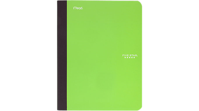 Five Star Composition Book with Pocket  (09276)