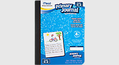 Primary Journal Half Page Ruled 100 Count (Item # 09554)