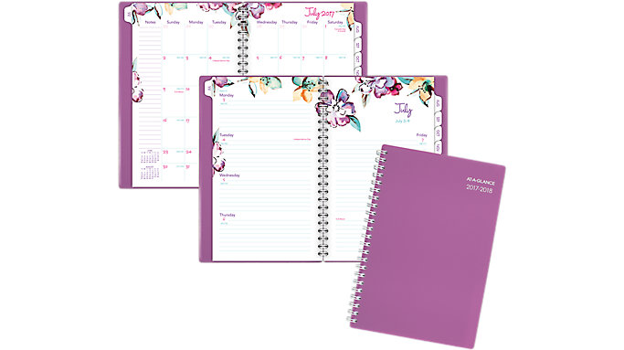 AT-A-GLANCE June Academic Weekly-Monthly Planner  (1012-200A)