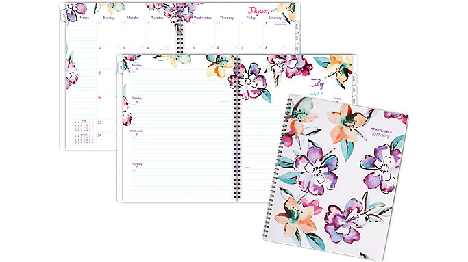 AT-A-GLANCE June Academic Weekly-Monthly Planner Large  (1012-905A)