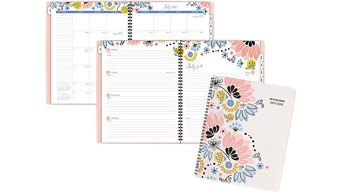 AT-A-GLANCE Claire Academic Weekly-Monthly Planner  (1014-905A)