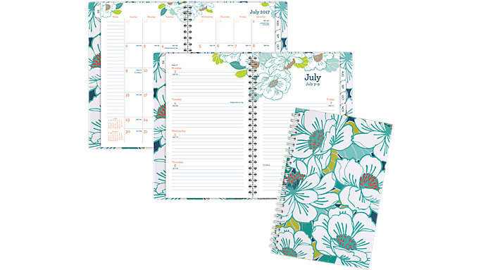 AT-A-GLANCE Mia Academic Customizable Weekly-Monthly Planner  (1018-201A)