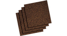 Dark Cork Tiles 12x12 (Item # 101)