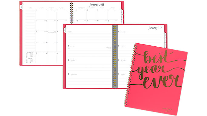 AT-A-GLANCE Aspire Weekly-Monthly Planner  (1022-905)