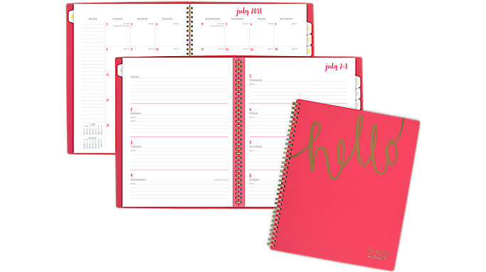 AT-A-GLANCE Aspire Academic Weekly-Monthly Planner  (1022-905A)