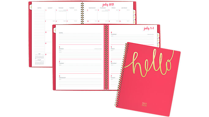 Cambridge Aspire Academic Weekly-Monthly Large Planner  (1022-905A)