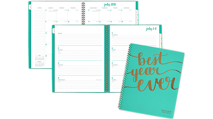 Cambridge Aspire Academic Weekly-Monthly Planner  (1022-905A)