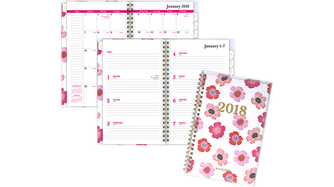 AT-A-GLANCE Taylor Customizable Weekly-Monthly Planner  (1027F-201)