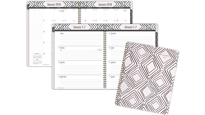 AT-A-GLANCE Kathy Davis Weekly-Monthly Planner  (1035B-905)