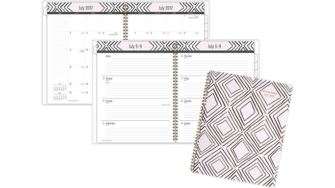 AT-A-GLANCE Kathy Davis Academic Weekly-Monthly Planner  (1035B-905A)