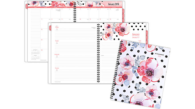 AT-A-GLANCE Kathy Davis Weekly-Monthly Planner  (1035F-905)