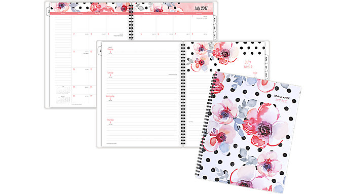 AT-A-GLANCE Kathy Davis Academic Weekly-Monthly Planner  (1035F-905A)