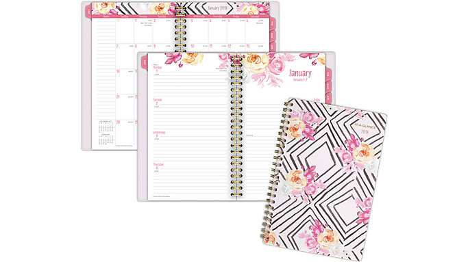 AT-A-GLANCE Kathy Davis Weekly-Monthly Planner  (1035P-200)