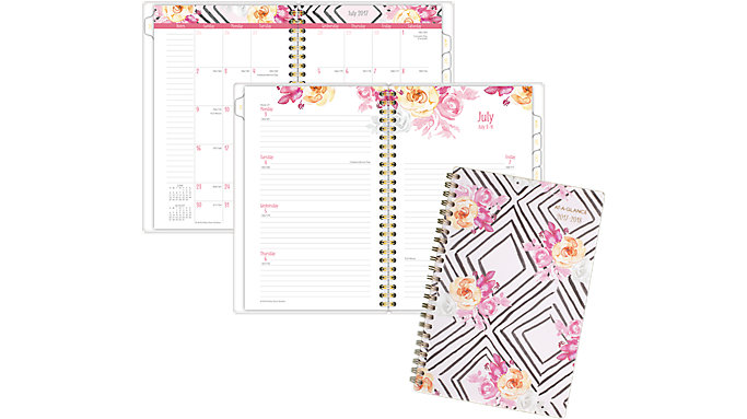 AT-A-GLANCE Kathy Davis Academic Weekly-Monthly Planner  (1035P-200A)