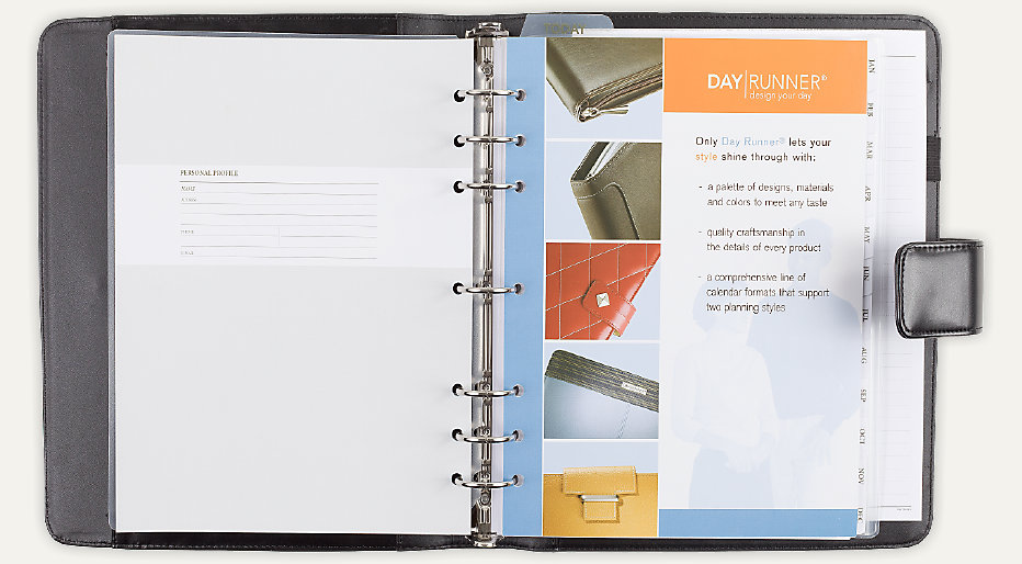 photograph relating to Day Runner Binder known as Working day Runner Logan Working day Planner