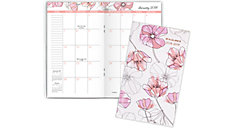 Blush 2-Year Monthly Pocket Planner (Item # 1041-021)