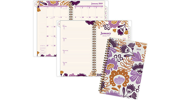 AT-A-GLANCE Ingrid Weekly-Monthly Planner  (1042-200)
