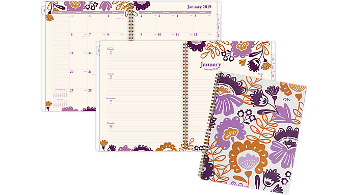 AT-A-GLANCE Ingrid Weekly-Monthly Planner  (1042-905)