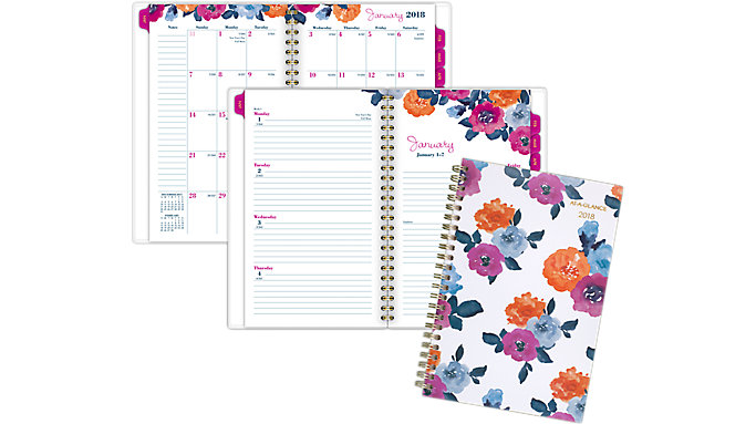 AT-A-GLANCE Eva Weekly-Monthly Planner  (1044-200)