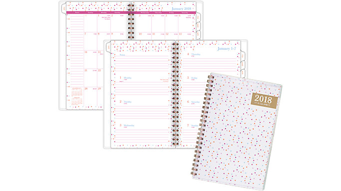 AT-A-GLANCE Spritz Customizable Weekly-Monthly Planner  (1048-201)