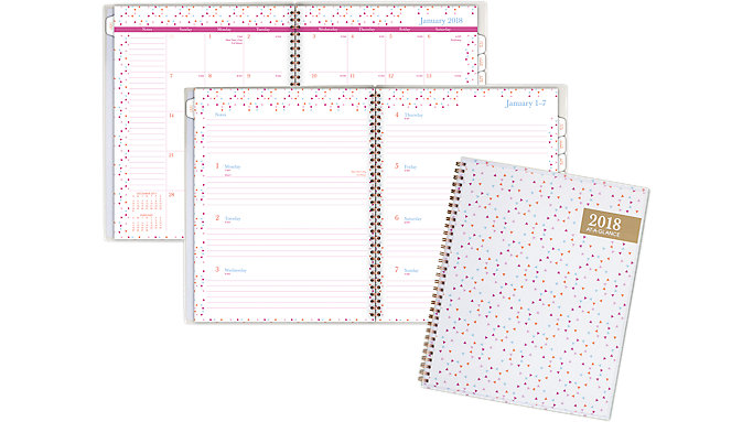 AT-A-GLANCE Spritz Customizable Weekly-Monthly Planner  (1048-901)