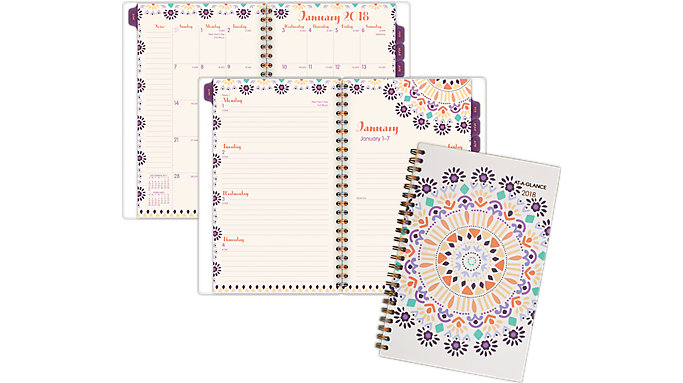 AT-A-GLANCE Sun Dance Weekly-Monthly Planner  (1051-200)