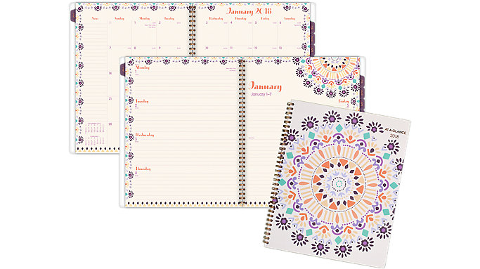 AT-A-GLANCE Sun Dance Weekly-Monthly Planner  (1051-905)