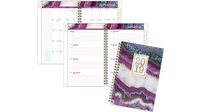 AT-A-GLANCE Agate Weekly-Monthly Planner  (1053-200)