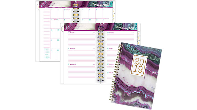 Cambridge Agate Weekly-Monthly Planner  (1053-300)