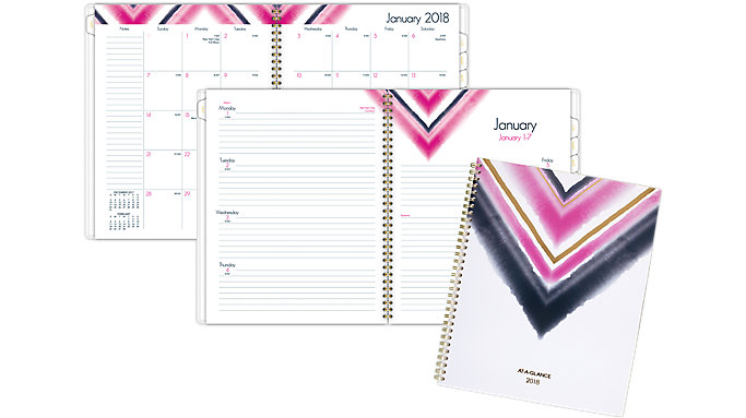 AT-A-GLANCE Touche Weekly-Monthly Planner  (1056-905)