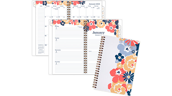 AT-A-GLANCE Isla Weekly-Monthly Planner  (1062-200)